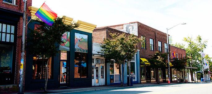 Downtown Carrboro